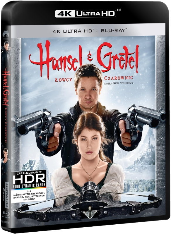 Hansel i Gretel: Łowcy Czarownic - Hansel and Gretel: Witch Hunters (2013) - Film 4K Ultra-HD