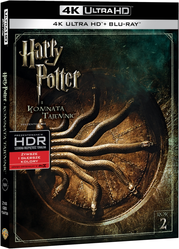 Harry Potter i Komnata Tajemnic - Harry Potter and the Chamber of Secrets (2002) - Film 4K Ultra-HD