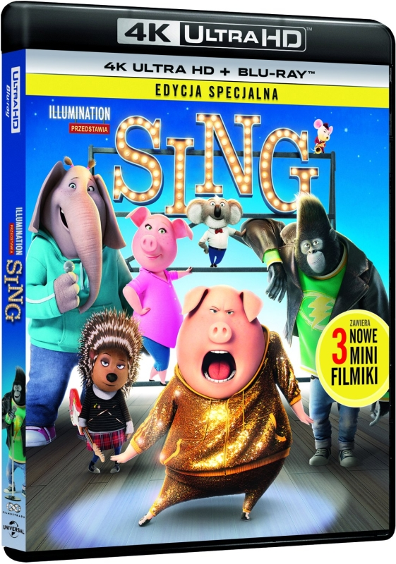 Sing (2016) - Film 4K Ultra-HD