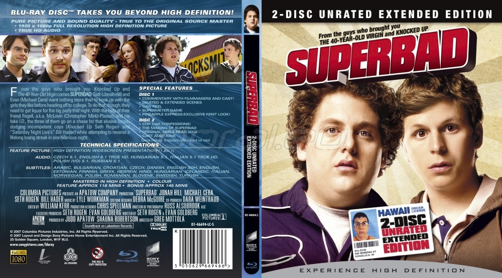 Superbad soundtrack